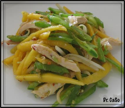 mango chickensalad