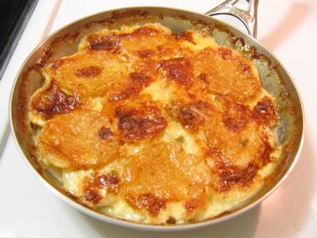 gratin de patates et navets