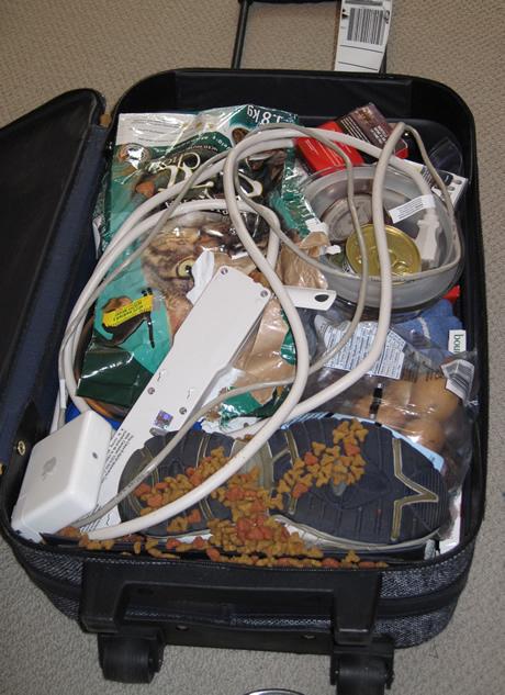 accident de valise...