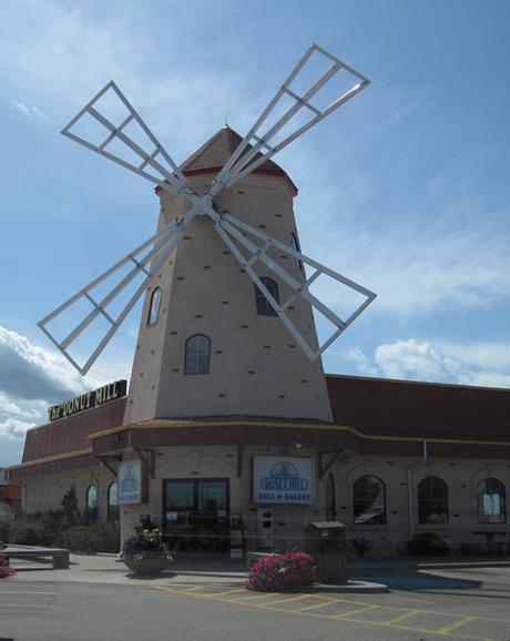 Nous voilà à Red Deer (une vraie ville, si si, je l'jure!), au Daughnut Mill!