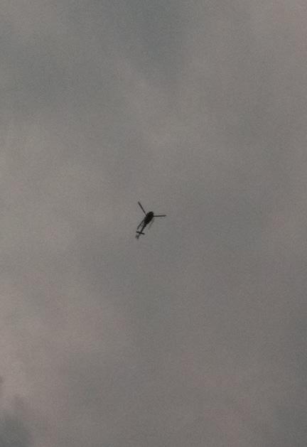 hélicoptères partout