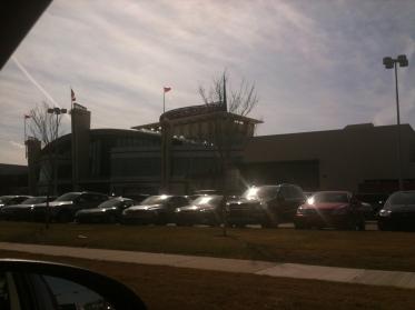 Le mall (photo prise avec mon iPhone)