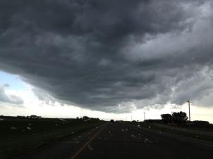 Départ d'ATPN sous une menace de tornade...