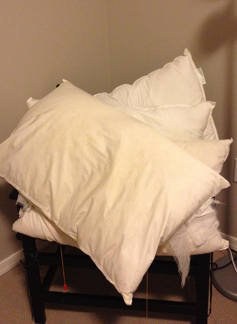 laver oreiller en plume ce soir je ne dors pas   c'est pas moi je l'jure! laver oreiller en plume