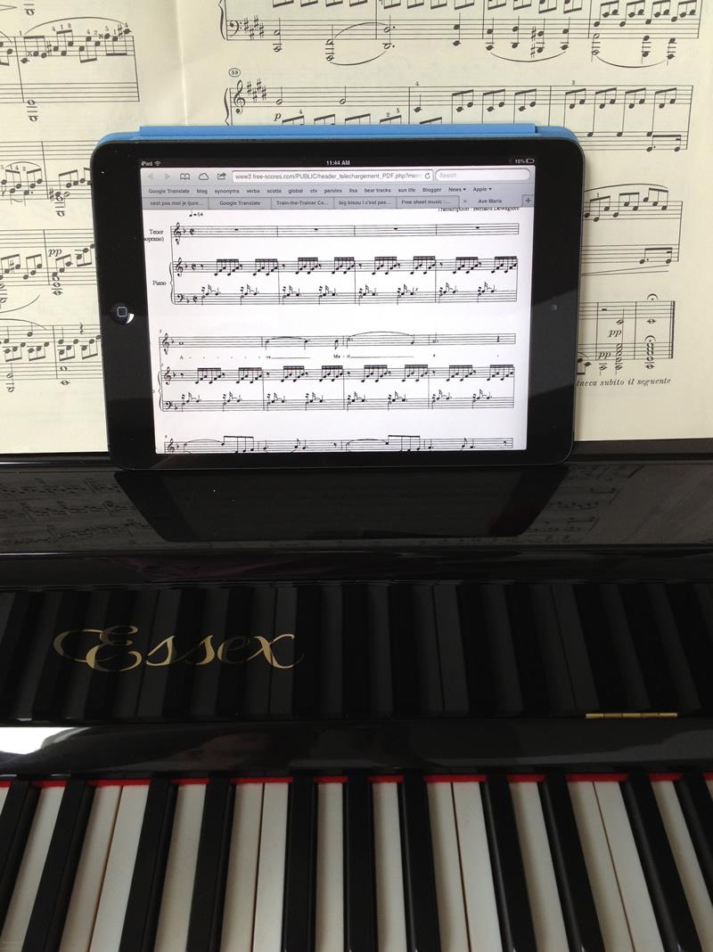 pianiste des temps modernes