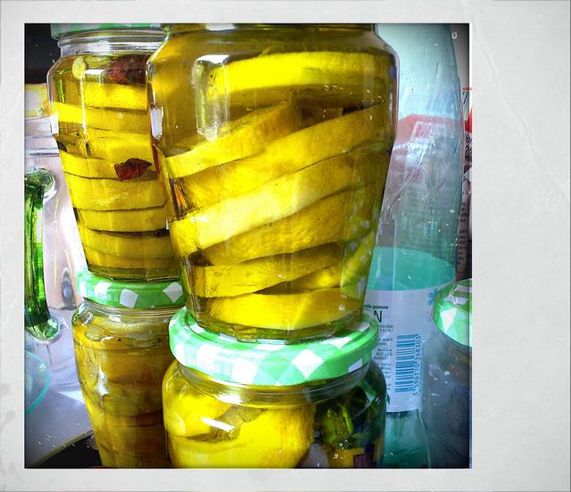 Confits de citron