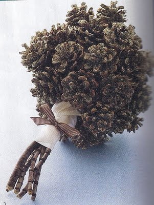 Pinecone Bouquet