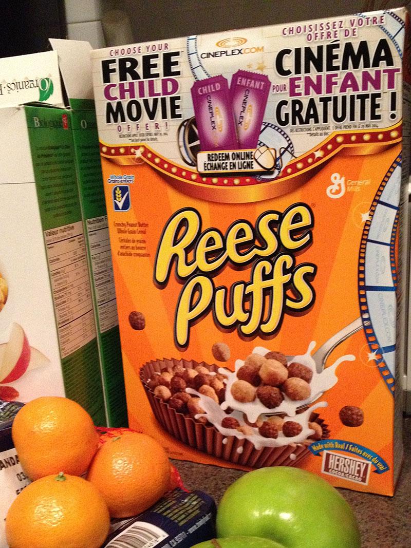 reese puffs