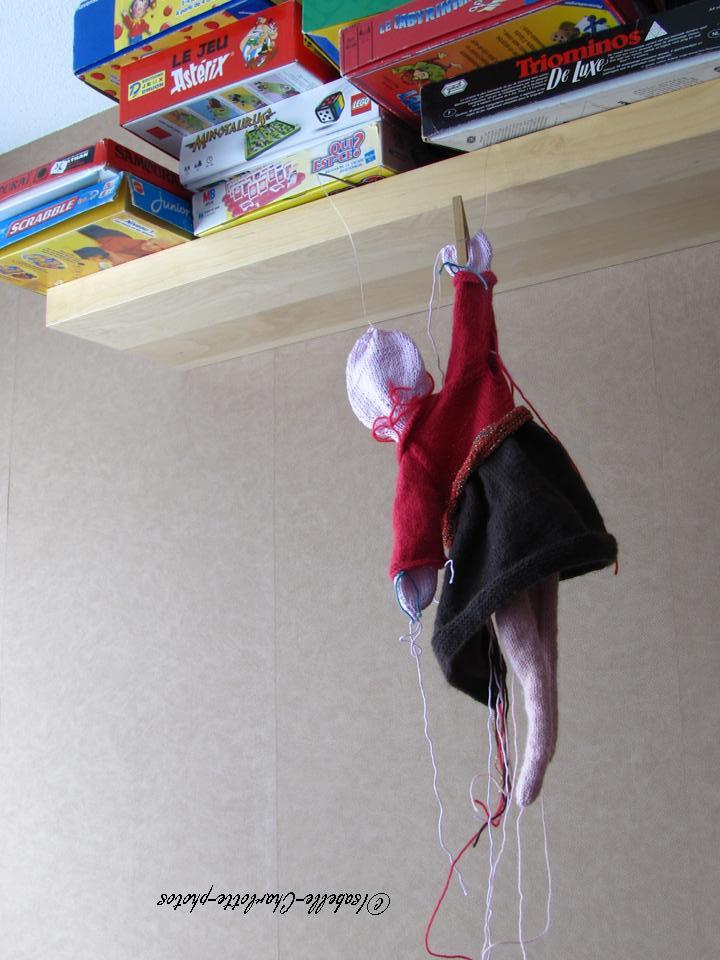 poupée suspendue