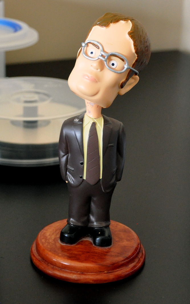 dwight shrute bobble head