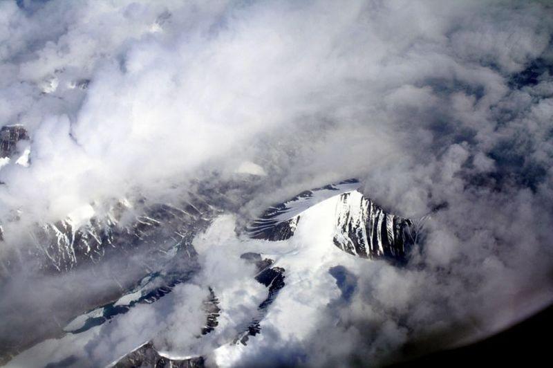 le Groenland vu d'en haut, juillet 2012