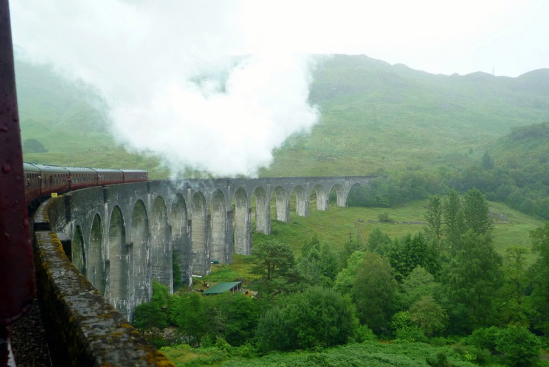 pont de Harry Potter, Ecossde, Glenfinan